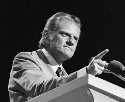 Billy Graham in Dallas Explo 72
