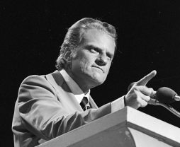 Billy Graham in Dallas Explo 72